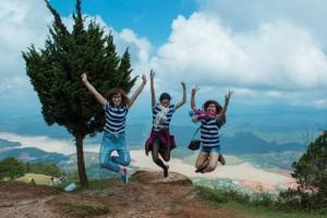 Lên nóc nhà đỉnh Langbiang thưởng ngoạn mây trời Đà Lạt